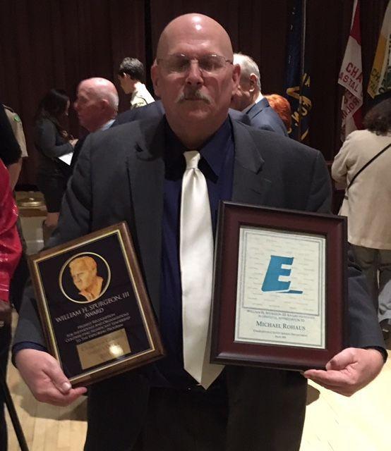 Coastal Carolina Scouts recognize Charleston County Sheriff's Office