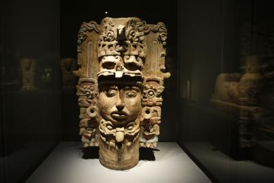 Mayan art in show focuses on body, animals, deities