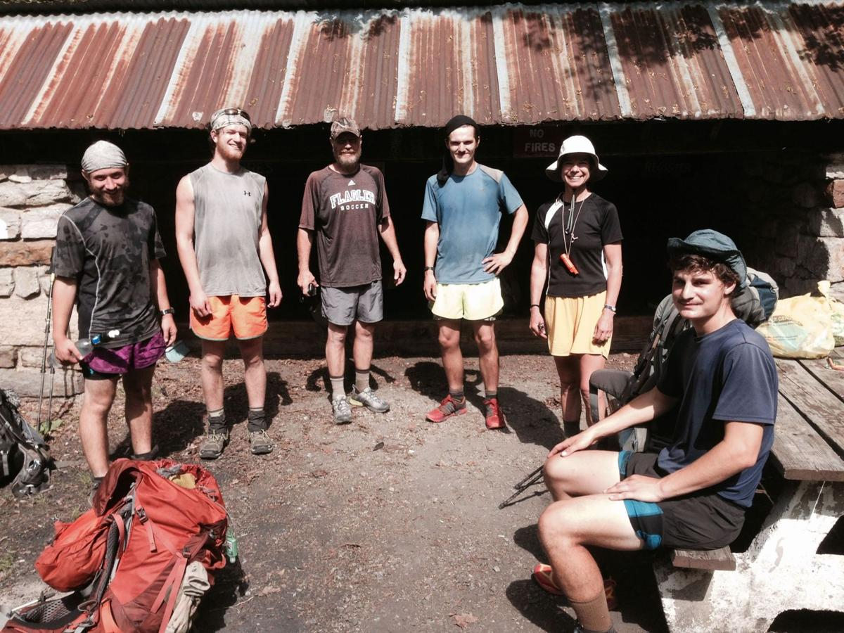 Harry Potter and bears Slug Club hikers enjoy reading at Appalachian Trail stops