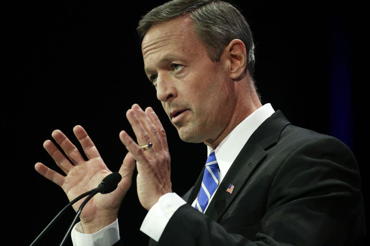 Former Maryland Gov. O'Malley to speak to SC Democrats
