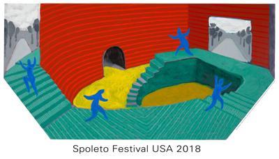 Spoleto 2018 poster