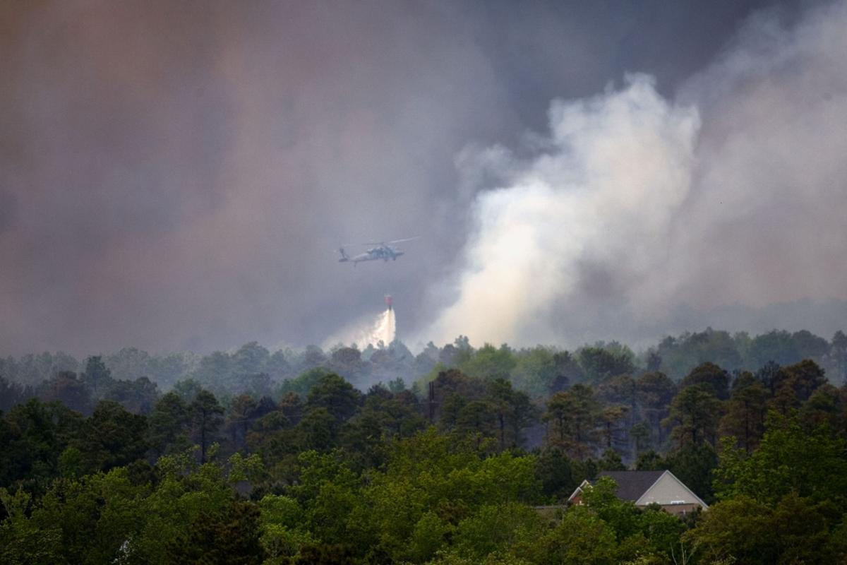 Western wildfires cost S.C.