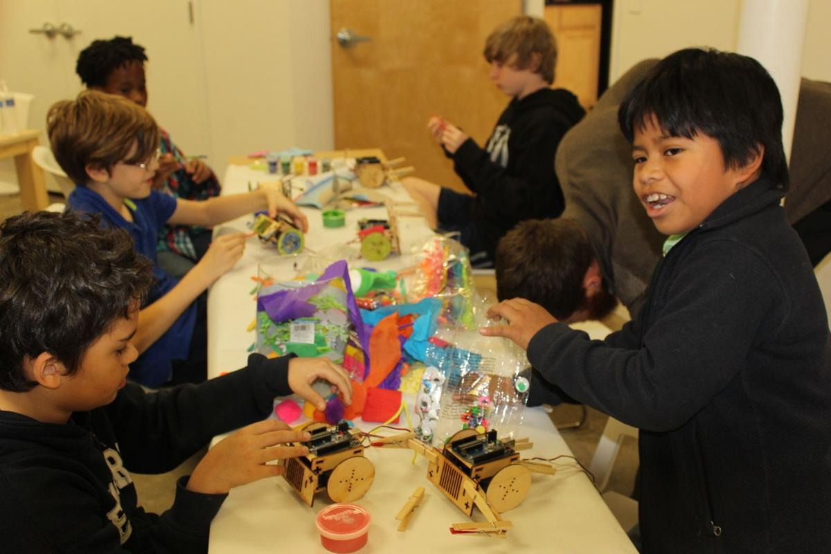 Camp to give kids a real taste of tech Digital Corridor's after-school program will explore web development