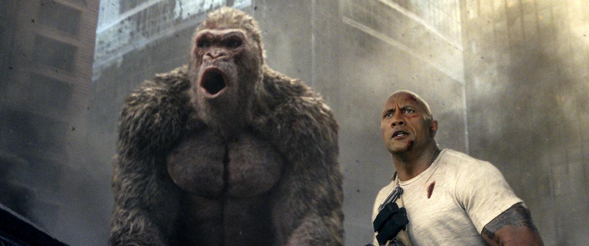 Shades Of Dwayne With Rampage Johnson Peddles In Now Familiar