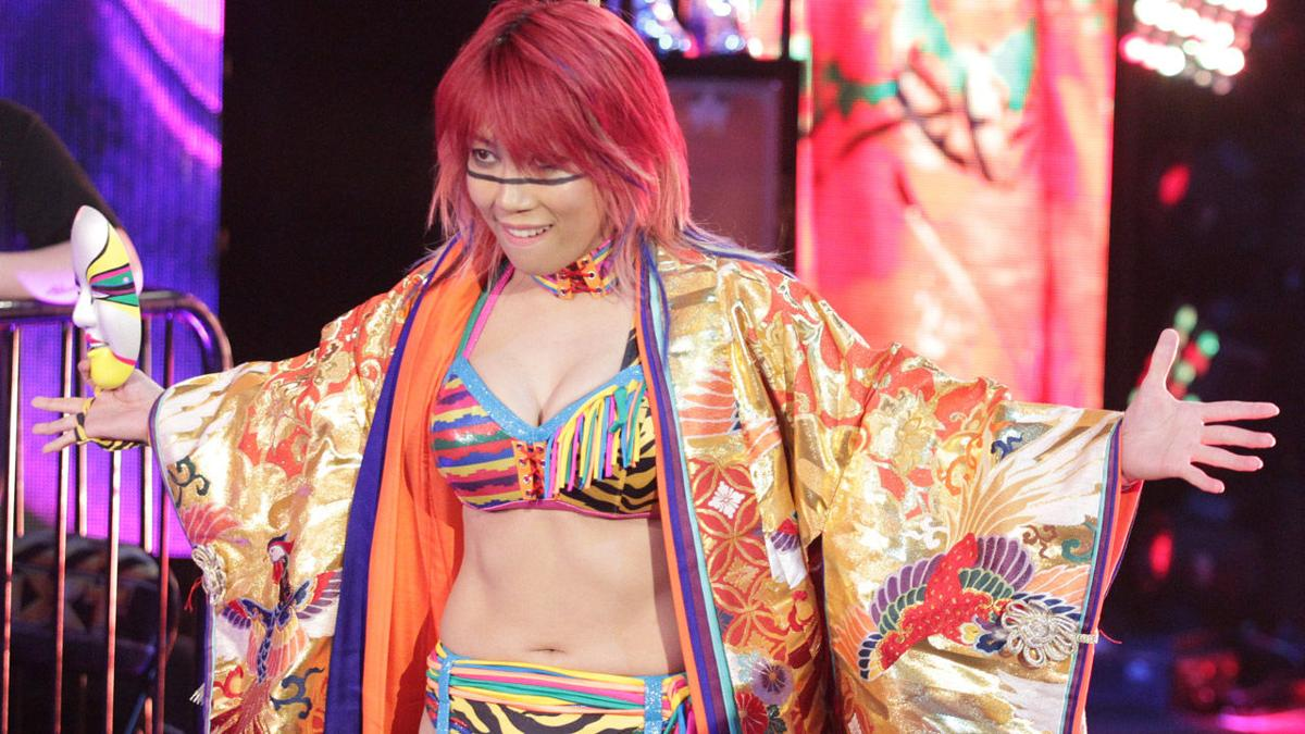 Image result for asuka dana brooke takeover respect