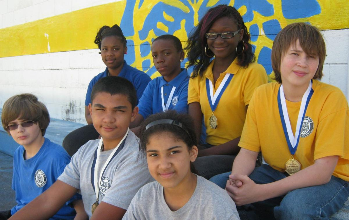 St. Andrews Middle students earn honors in oratorical competition