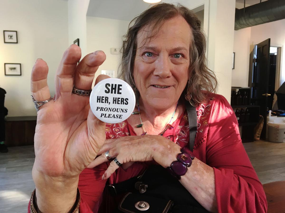 Charleston Area Transgender Support co-facilitator Lee Anne Leland