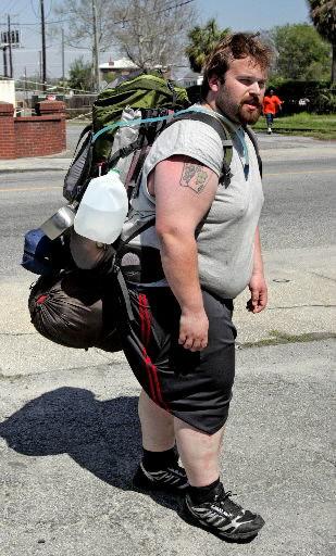 Man to trek across country