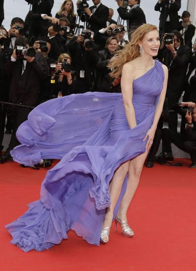 Jessica Chastain on 'Eleanor Rigby,' Cannes
