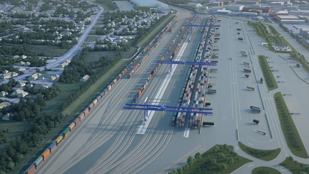 Palmetto Railways intermodal facility at Navy Base (copy)
