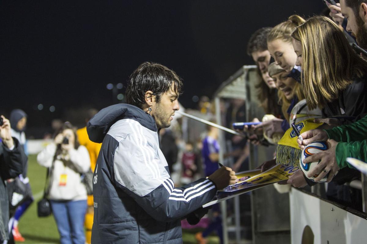 Soccer superstars Kaká, David Villa lift MLS, Carolina Challenge Cup to new heights