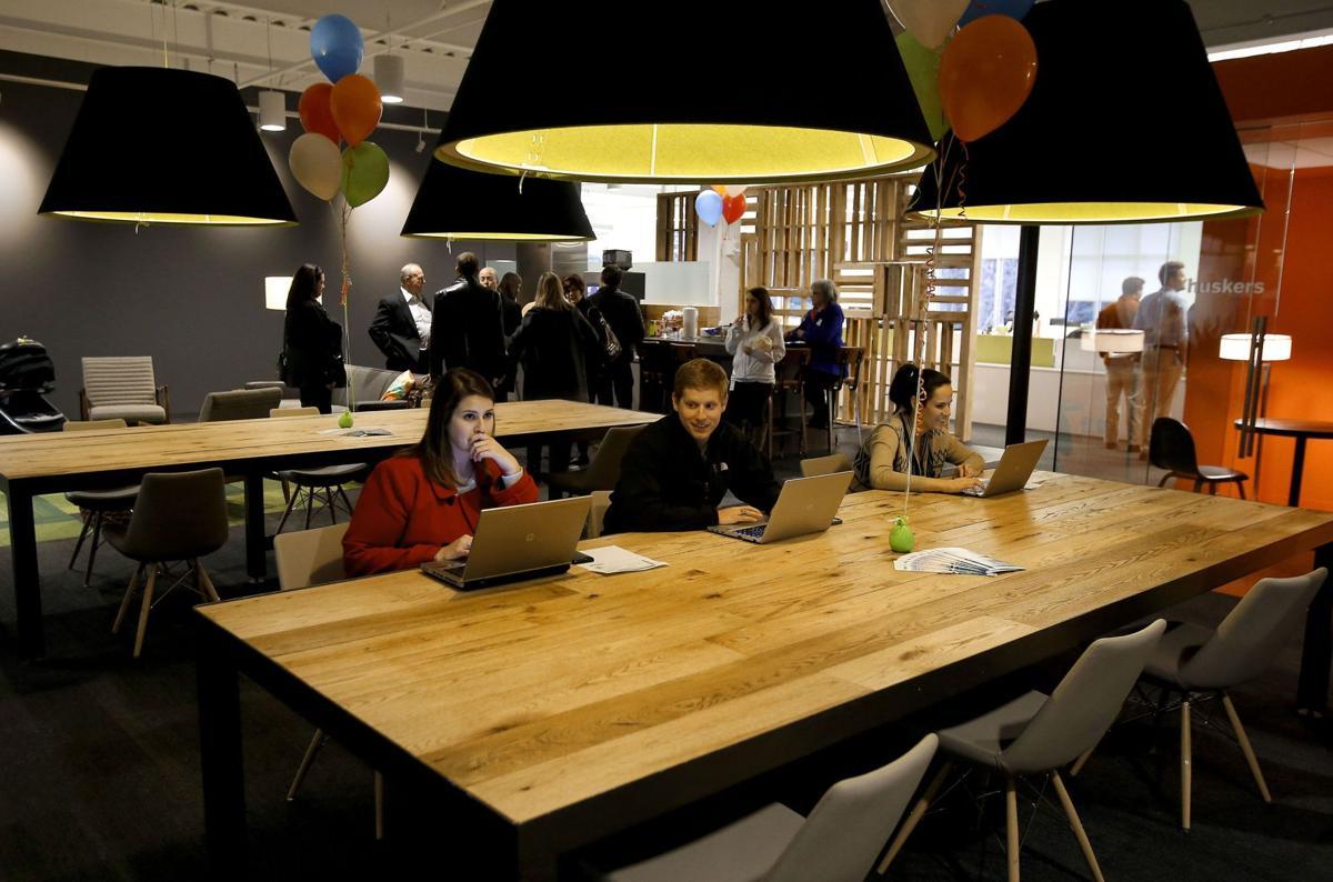 Benefitfocus celebrates success in new office