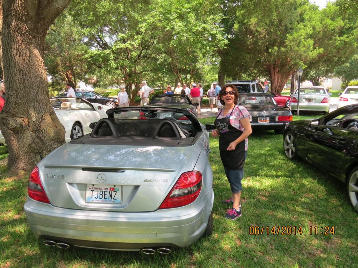Mercedes Club's Dock Party