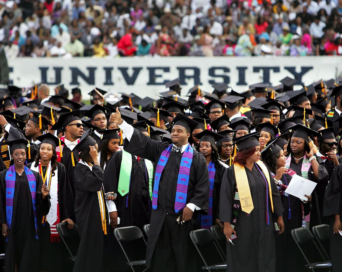 S.C. State celebrates Actor Terrence Howard congratulates graduates Trident grads beat the odds