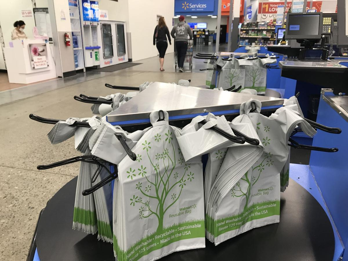 Walmart's new plastic bags