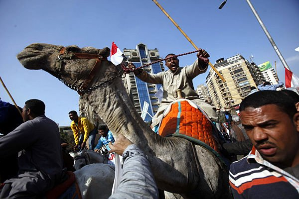 3 demonstrators killed in Cairo's main square