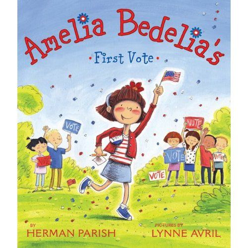 'Amelia Bedelia's First Vote' introduction to voting process