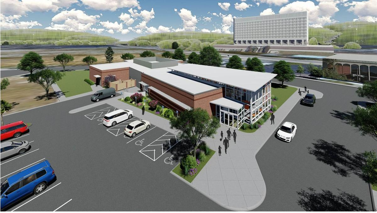 Designs unveiled for new North Charleston library