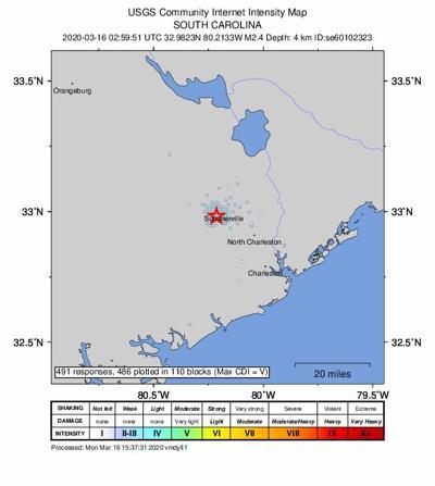 summerville quake