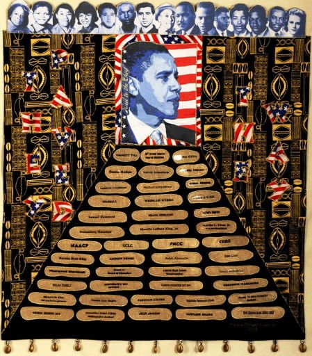Quilts for Obama: Celebrating the Inauguration of our 44th President