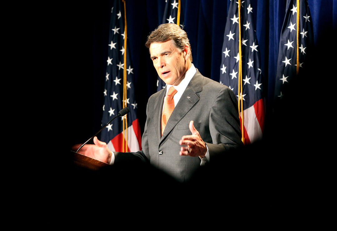Perry announces presidential candidacy at Charleston RedState Gathering
