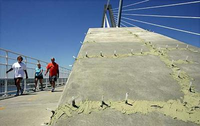 Ravenel bridge not cracking up