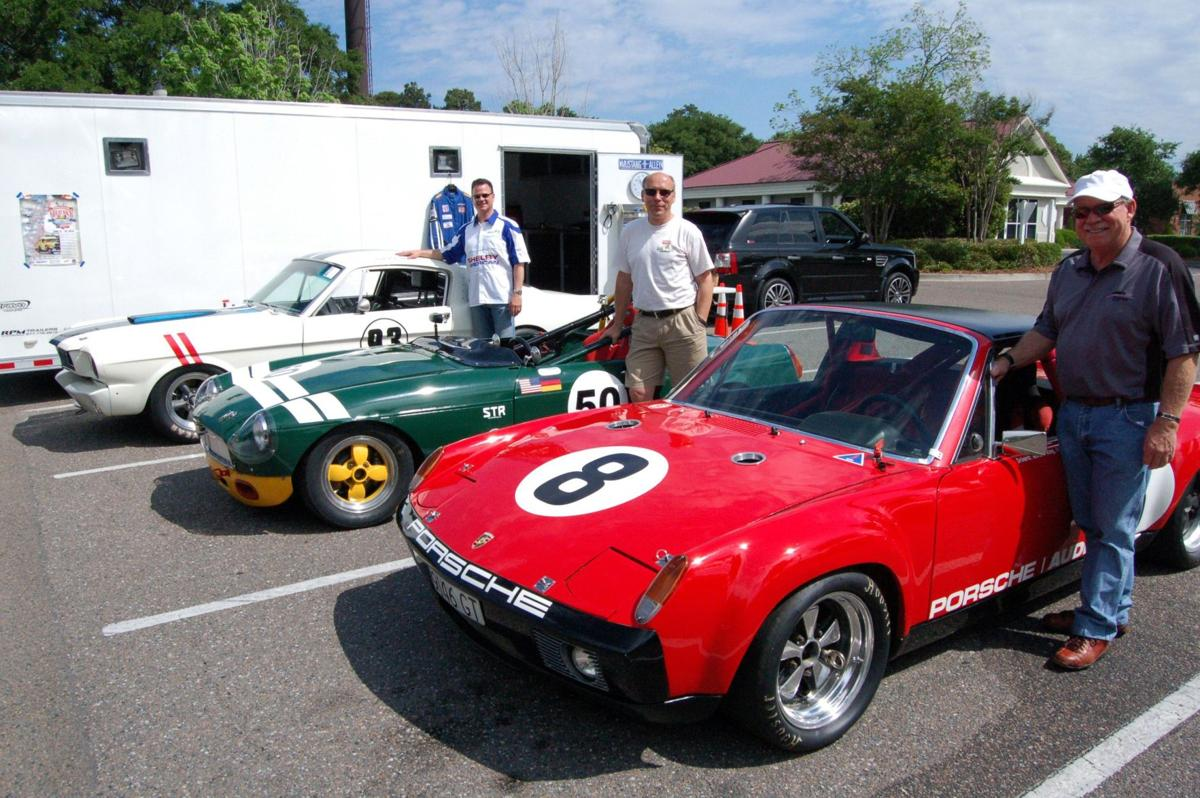 Fine 'Whine': Vintage auto racers from Charleston area showcase time-honored sports cars on the track