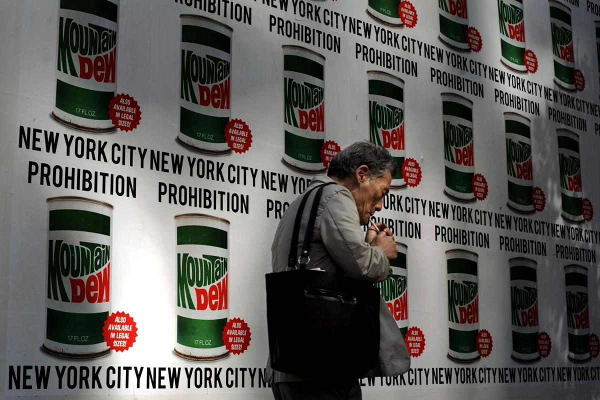 NYC bans big, sugary drinks at restaurants