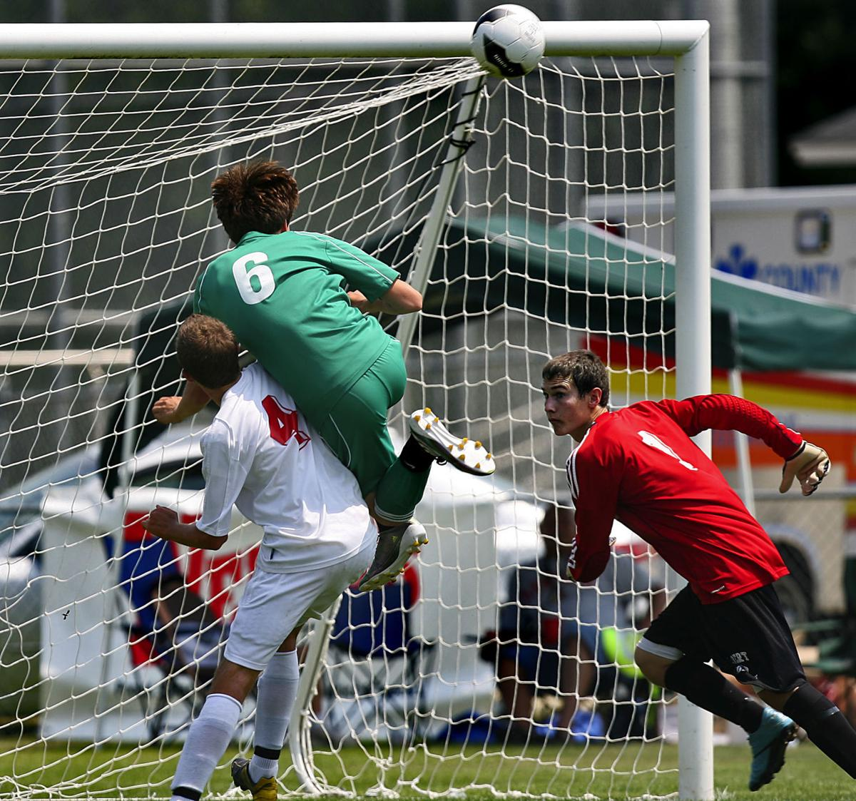 Bishop England boys win AA state soccer title