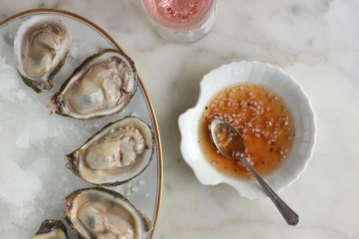Oyster mignonette