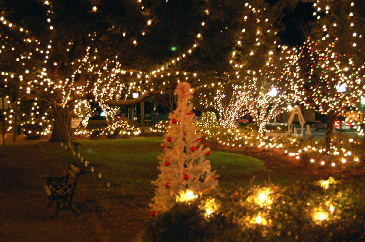 Lights are up for the holiday edition of Summerville's Third Thursday event