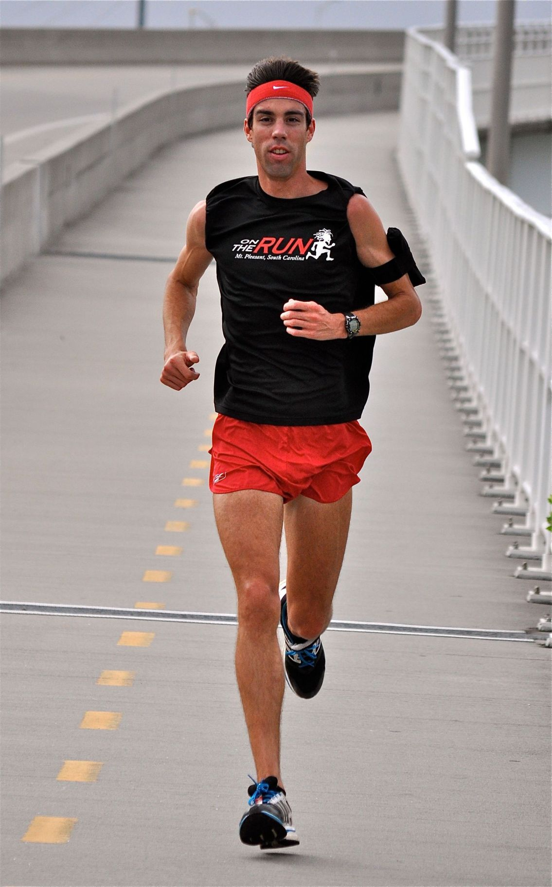 State's top runner allergic to own sweat
