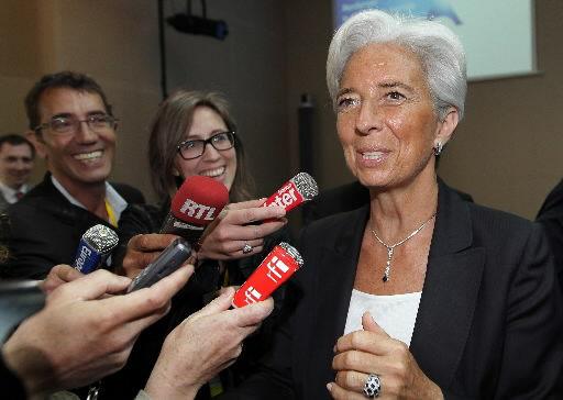 France's Lagarde launches bid for IMF leadership