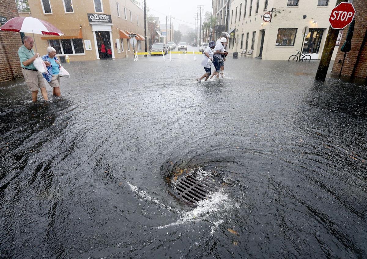 Flooding snarls Charleston streets (copy)