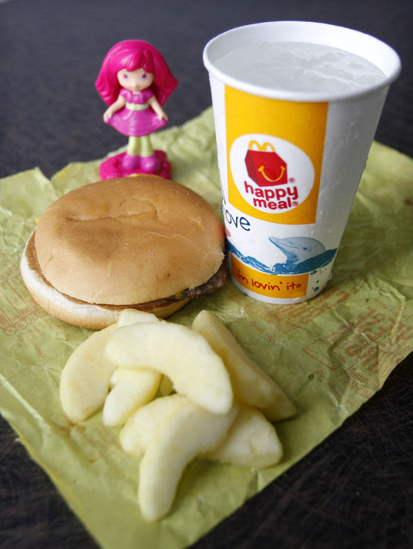 Happy Meal gets a healthy tweak: Critics say apples, other McDonald's changes, not enough