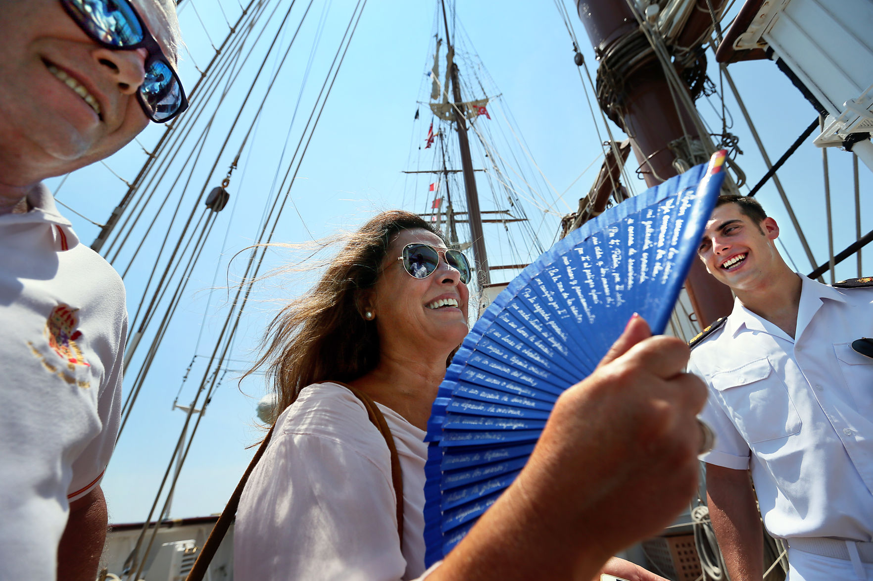 parents sailor Spanish Navy tall ship.jpg | Post and Courier
