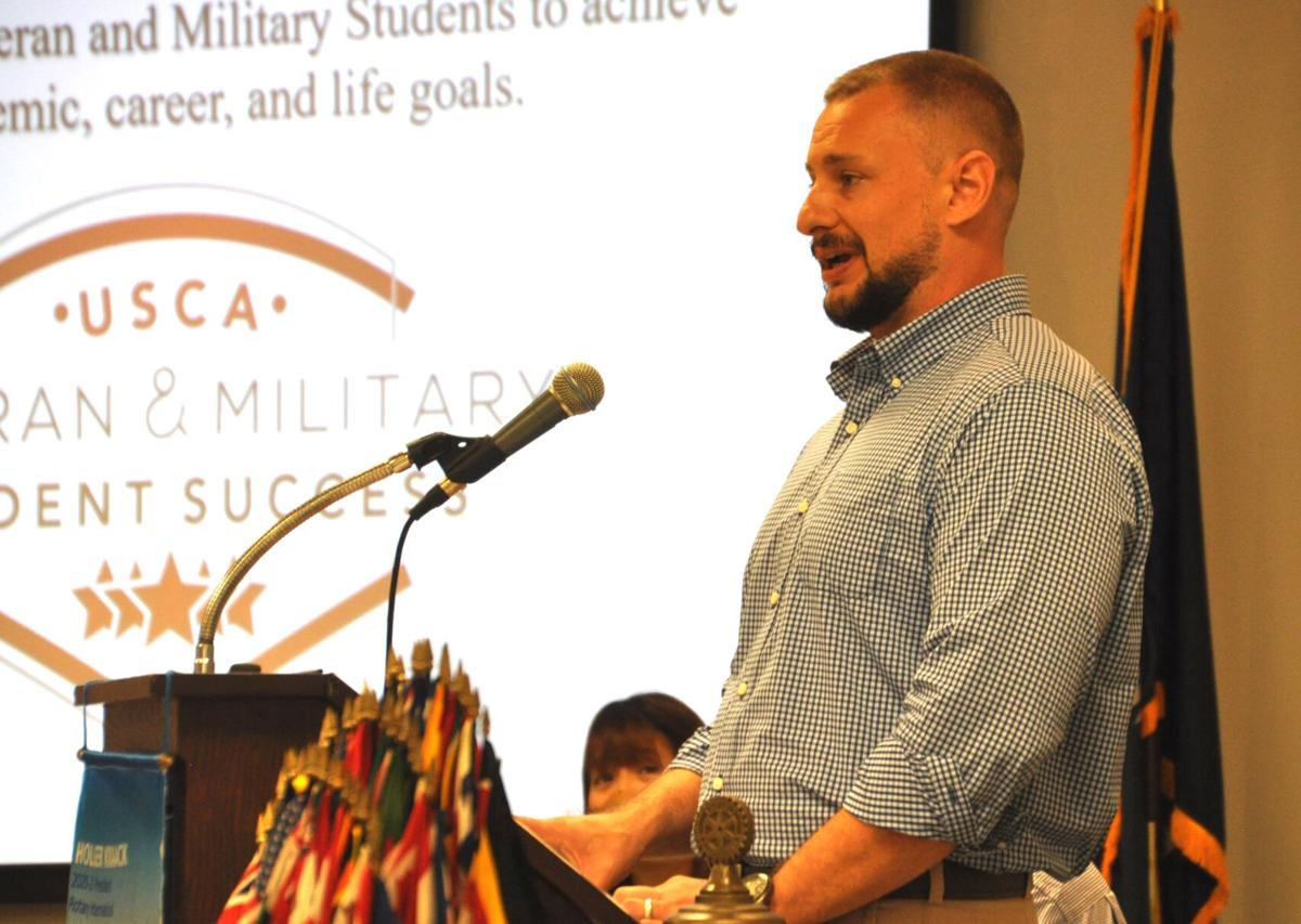 Students who are veterans praise USC Aiken for its efforts  to help them  1