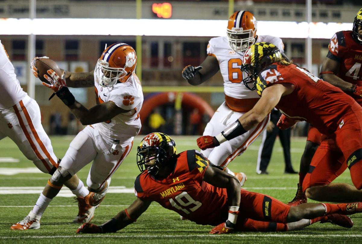 Run game revs up for Clemson with Roderick McDowell's resurgence