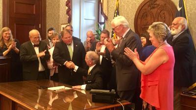 Gov. Henry McMaster signs FOIA bill (copy)