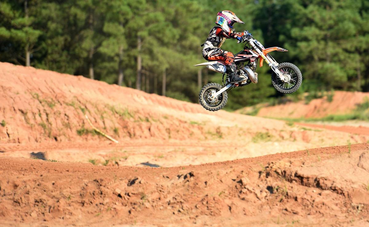 Rising star of motocross