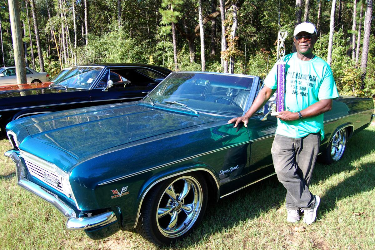 Yearly car show in Huger brings out classic convertibles, tricked ...