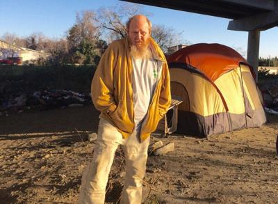 Tent city was founded on good deeds, faulty logic