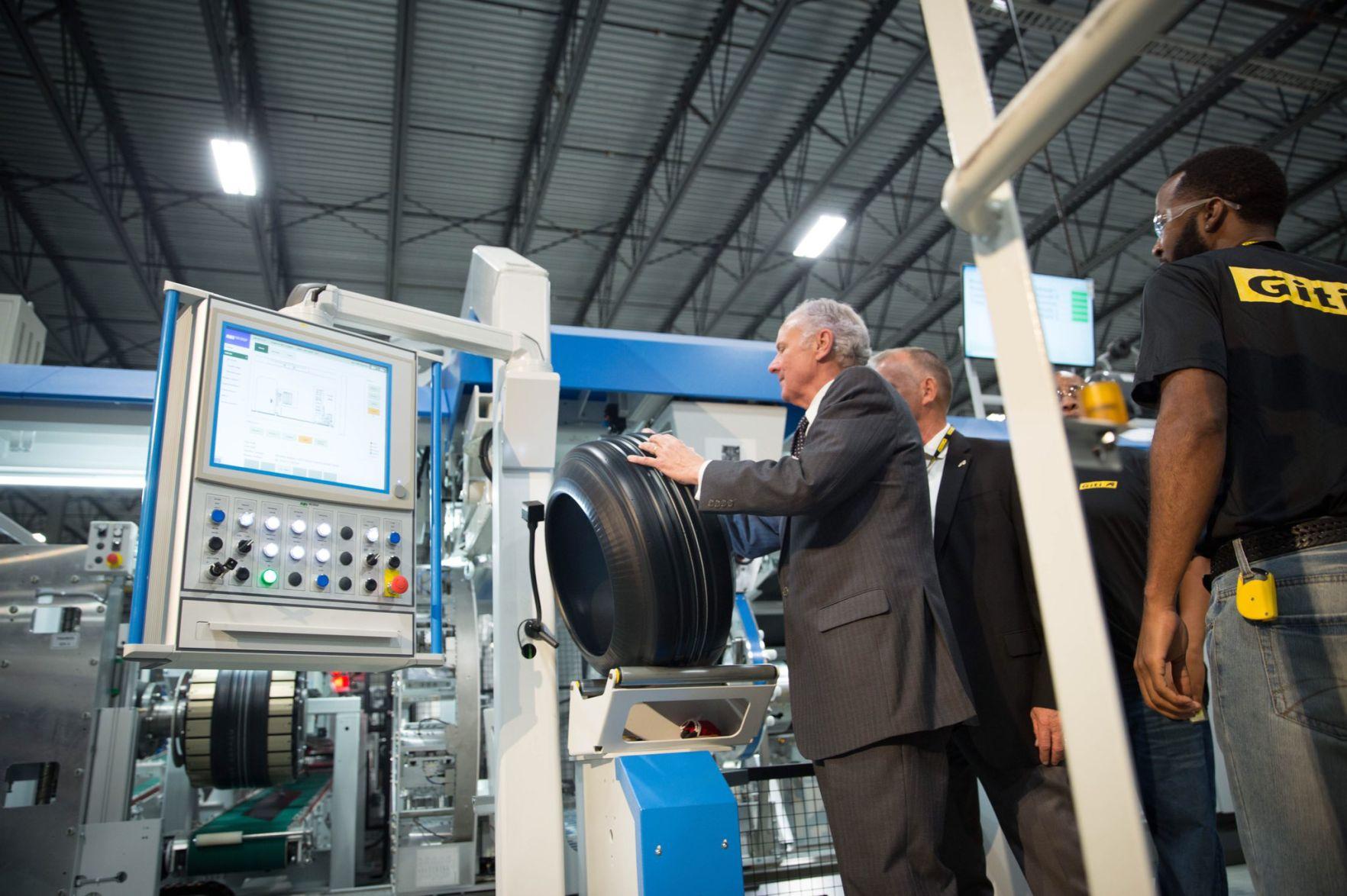 Giti marks start of production at USA plant