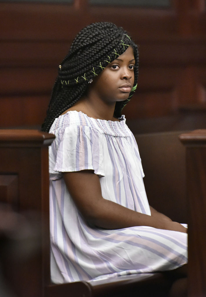 Kamiyah Mobley in court