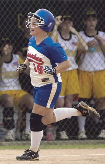 Hanahan captures AA softball title