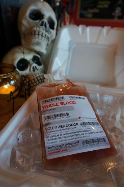 Blood Bag at Bone-In Barbeque
