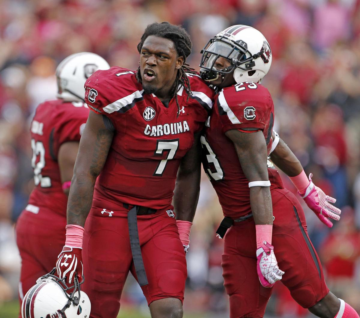 Clowney's strip-sack clinches USC victory