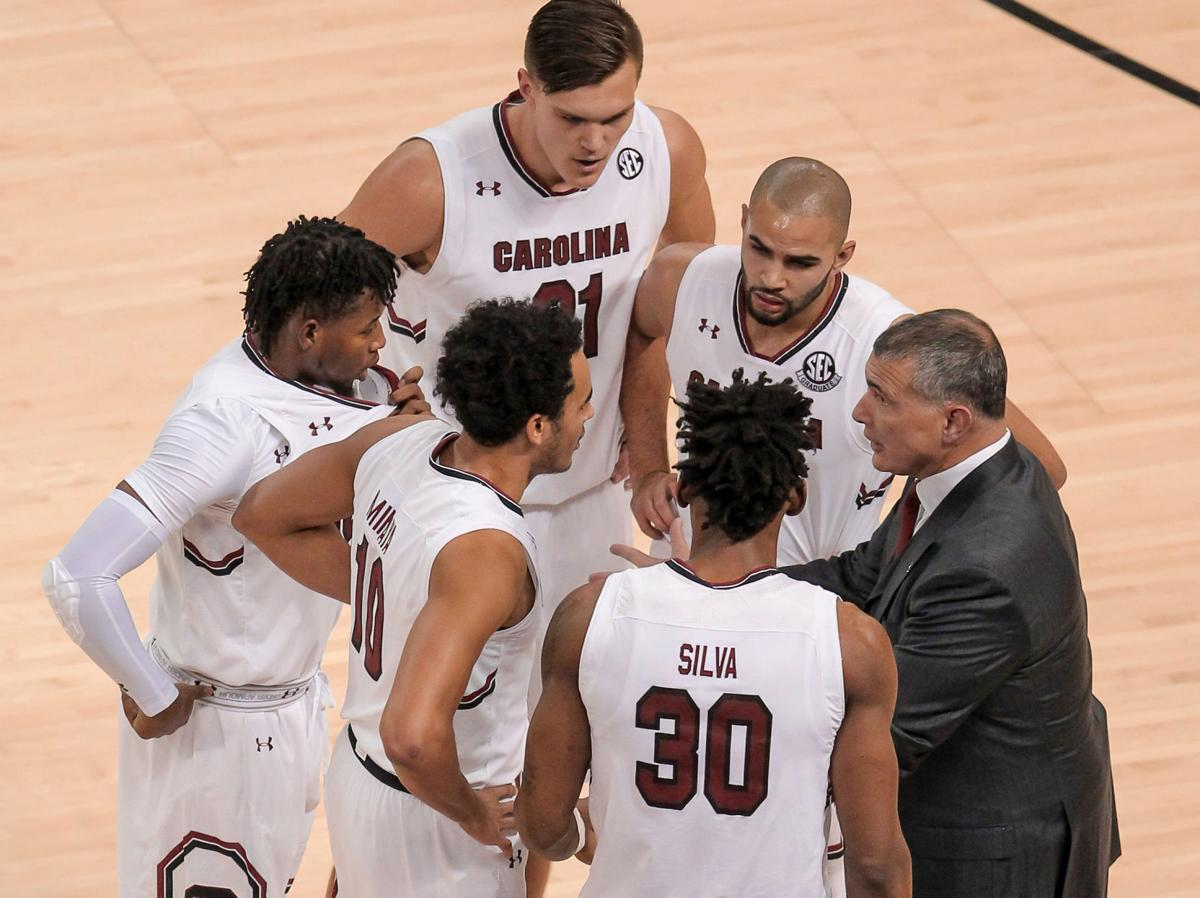 south carolina's non-conference men's basketball schedule presents