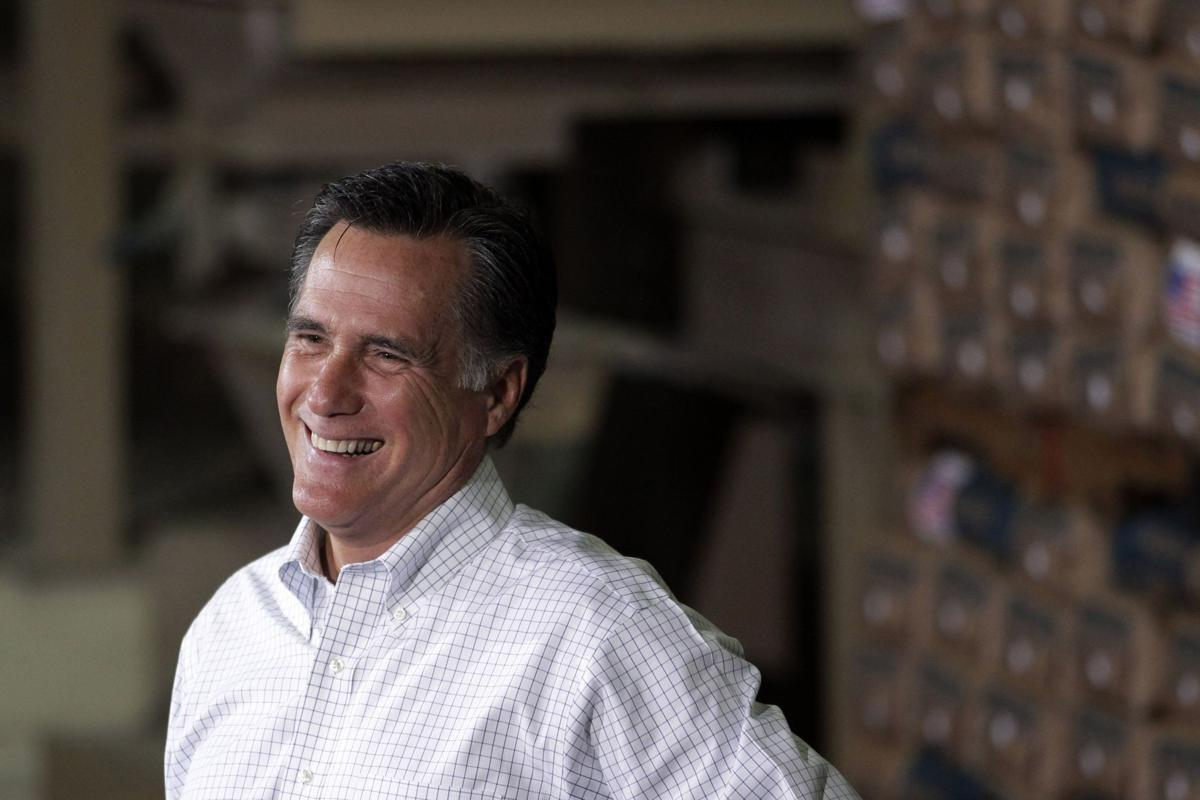 Romney's grand news