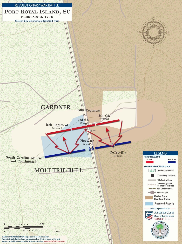 1779 Battle of Beaufort